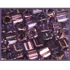 Square Beads 2.6x2.6mm Square Hole Purple Luster